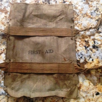ONE MORE ITEM FROM THE OLD TRUNK - A FIRST AID PACK