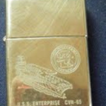 Zippo Commemorative Cigarette  Lighter - Tobacciana