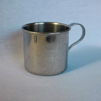 Baby/Baptism Cup 1965, Oneidacraft Stainless