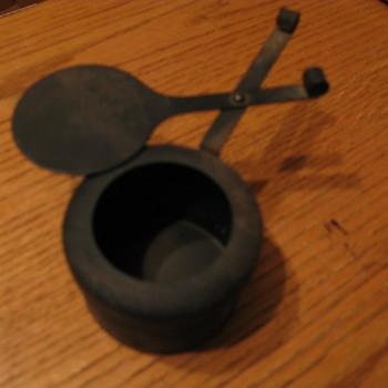 Portable ash tray!