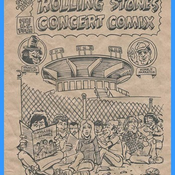 Concert Comix 1981 - Music Memorabilia