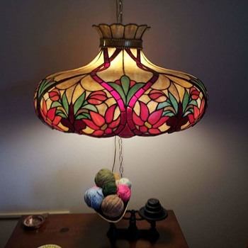 My grandmother's hanging lamp - Lamps