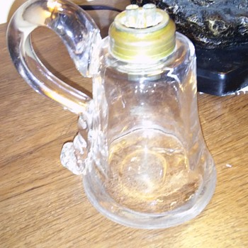 Early qntique whale oil lamp!