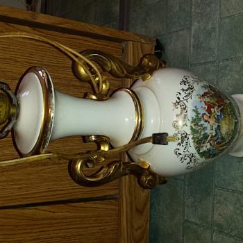 vintage George and Martha Lamps! can anyone provide info!  - Lamps
