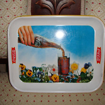 Coca-Cola Panzie trays