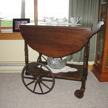Old Tea Cart, 2nd posting - Furniture