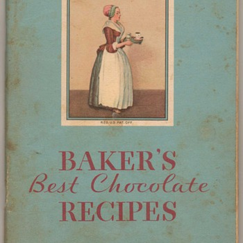 1932 - Baker&#039;s Chocolate Recipe Book - Books