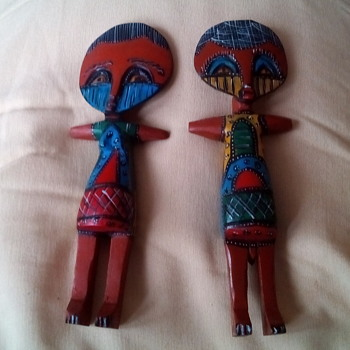 Wooden painted figures :-)