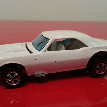 1969 White Enamel Custom Camaro