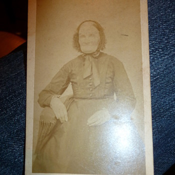 1876 Photo of Royalty? - Photographs