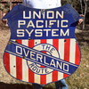 Union Pacific Overland Route Railroad Sign