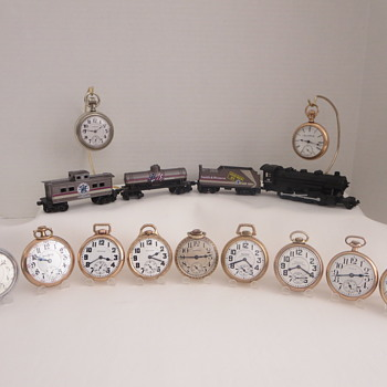 A Few Railroad Grade Pocket Watches