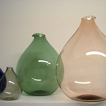 kjell blomberg for gullaskruf Blomkule - Art Glass