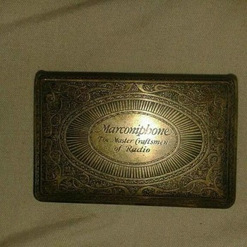 vintage match box holder - Tobacciana