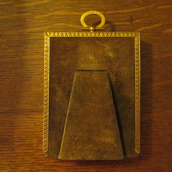 Back of Grandfather's picture frame - Visual Art