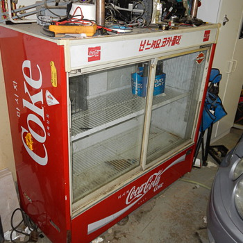 Korean Coke cooler - Coca-Cola