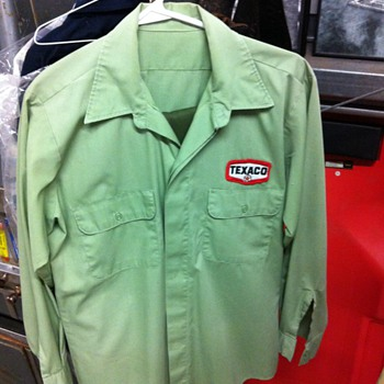 Texaco uniform - Petroliana
