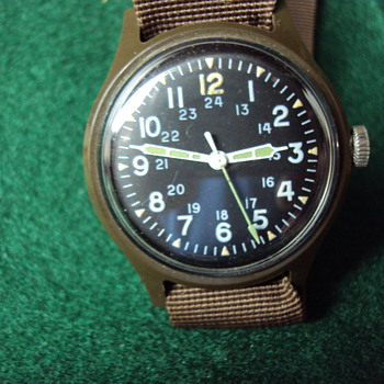 Timex Prototype MIL-W-46374 - Wristwatches