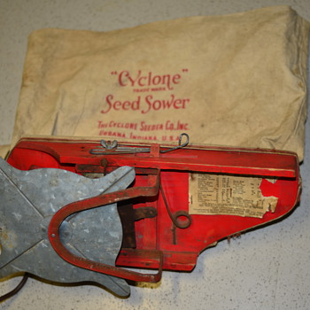 Early 1930's Cyclone Seed Sower