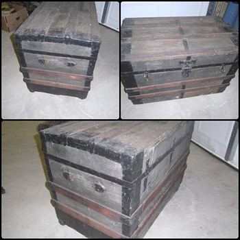 Looking for ANY further info on this antique trunk - Furniture