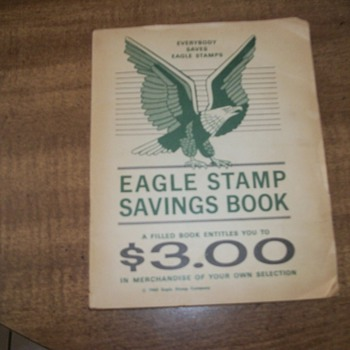 eagle stamp savings book - Stamps