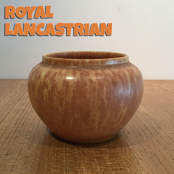 ROYAL LANCASTRIAN VASE c. 1930