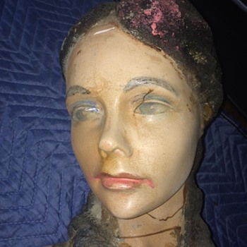 1920's ? Plaster mannequin