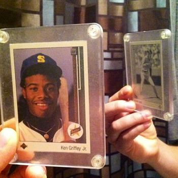 89 UD KEN GRIFFEY JR. RARE MISPRINT ERROR - Cards
