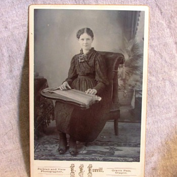 Antique Victorian Cabinet Card Photos