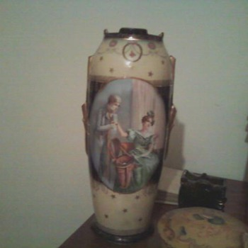Mid Victorian vase?