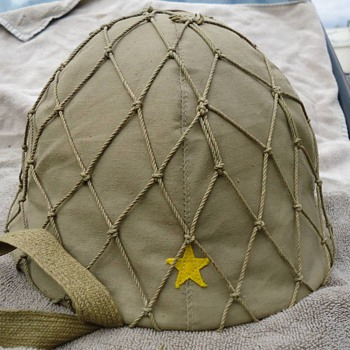 japanese ww2 army helmet - Military and Wartime