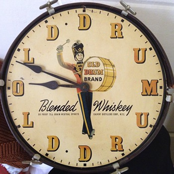 Whiskey Clock