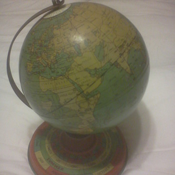 Ohio Art Globe 1929 - Office