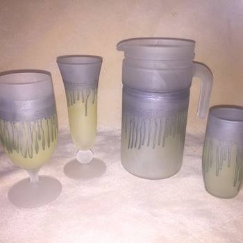 Israeli Glassware Sets - Glassware