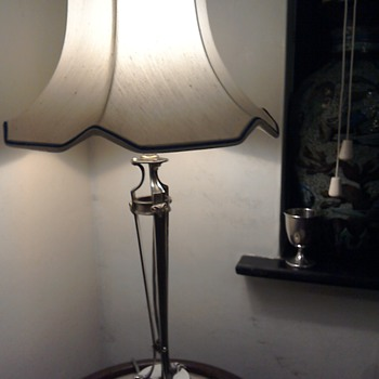 Silver Table Lamp 1908