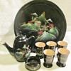 Chinese lacquerware set
