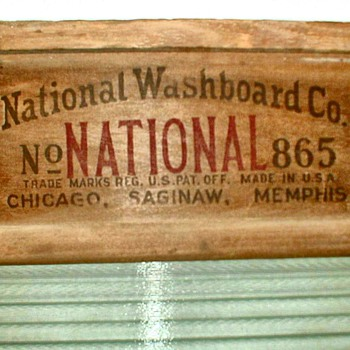 National Washboard No. 865