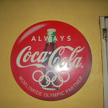 Coca Cola/Olympic sign - Coca-Cola
