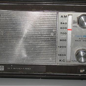 1966 Standard Radio Corp. portable radio