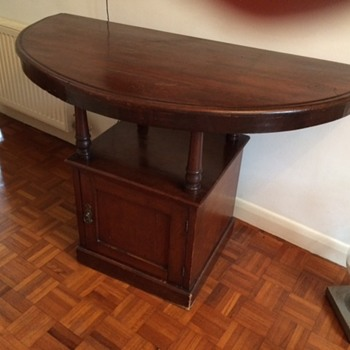 Unusual hall table