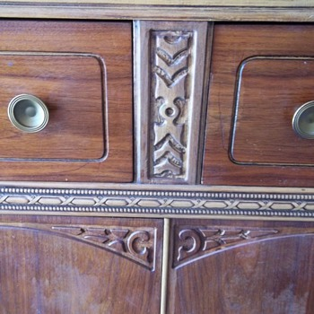 Antique buffet or bar - Furniture
