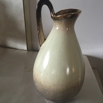 i love this little pitcher i found in the basement wrapped up - Pottery