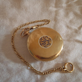 Lancet 18K Gold Pocket Watch