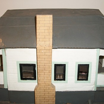 Carboard Folk Art Miniature Amazing House Collection Jim Linderman