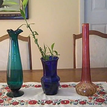 aunties vases - Art Glass