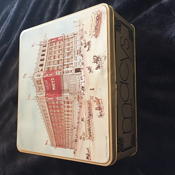 Macy's Tin  - Advertising