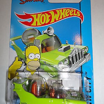 Simpson new diecast favouries