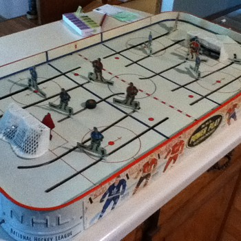 "Early 1960s Table Hockey ""N.H.L. Power Play Electric Hockey"""