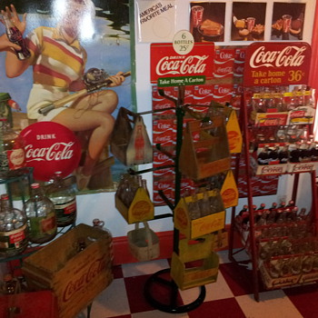 Coca-Cola Display Rack - Coca-Cola