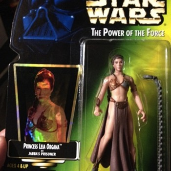Paint glitch Leia - Toys